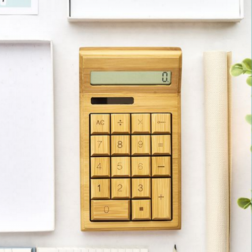 Solar Bamboo Wood Calculator
