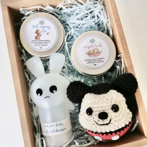 Care Bunny Gift Set for Baby Boy (Mickey/Donald/Pluto)