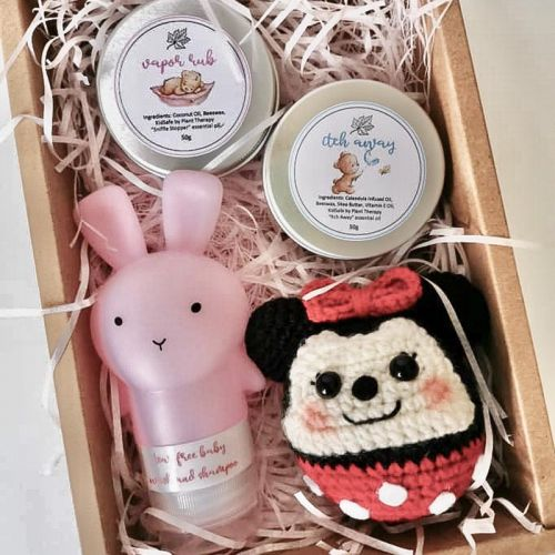 Care Bunny Gift Set for Baby Girl (Minnie/Daisy/Pluto)