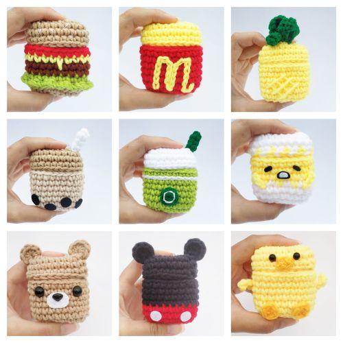 Handmade Crochet Airpods Case