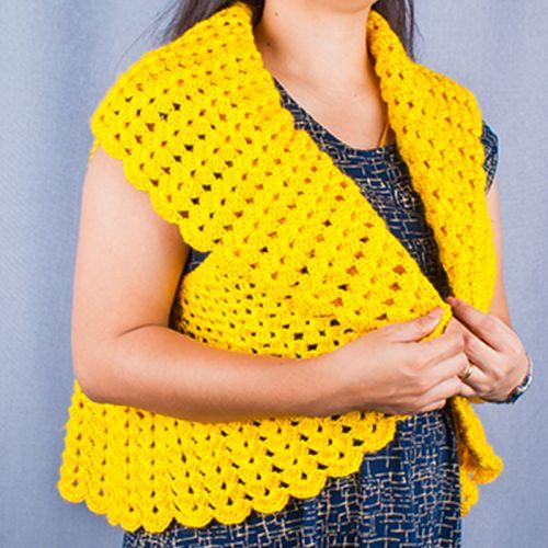 Handmade Stylish Knitted Vest