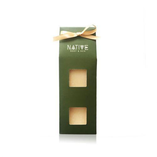 Natural Soap Gift Set - Cocoa Mint + Orange Cardamom
