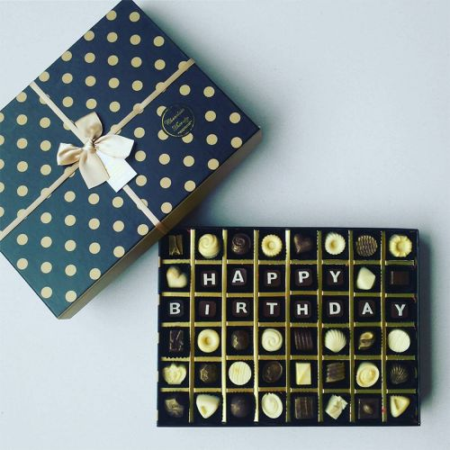 Personalized Wishes Chocolate Gift (Premium Box)