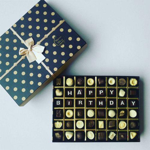 Personalized Wishes Chocolate Gift (Premium Box)
