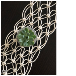 Handmade Macrame  Christine Small Table Runner