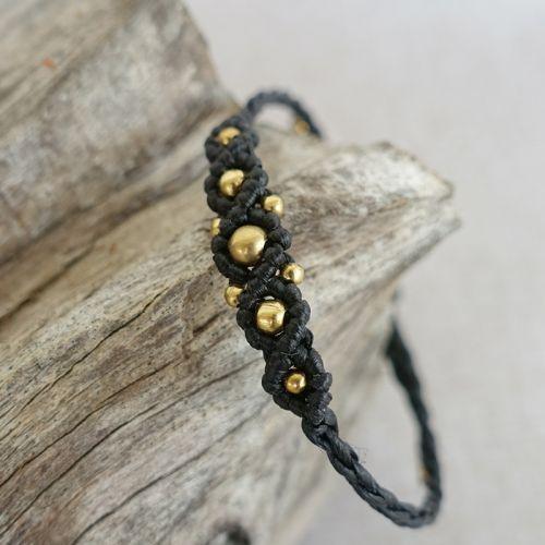 Macrame Beads Bracelet