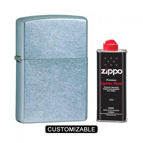 Zippo 207 Regular Street Chrome Lighter