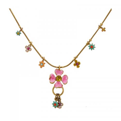 Multi Color Crystal Necklace
