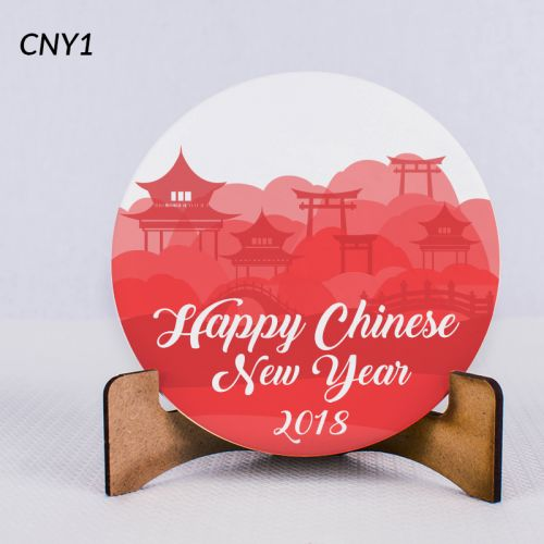 CNY Coaster Art
