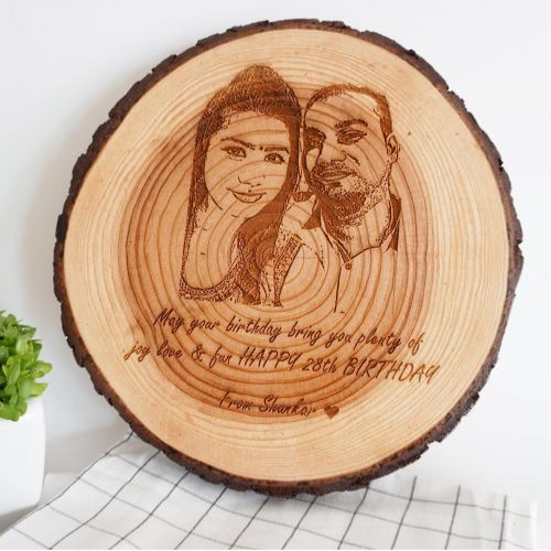 Wooden Slice Decoration