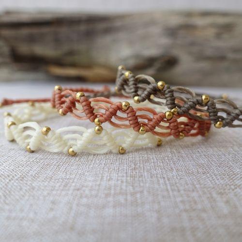 Macrame Friendship Woven Bracelet