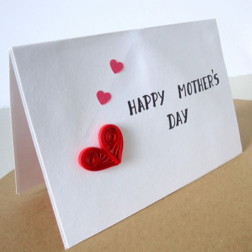 Mother's day 3D pop-up card