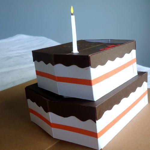 Pop-up Cake greeting card