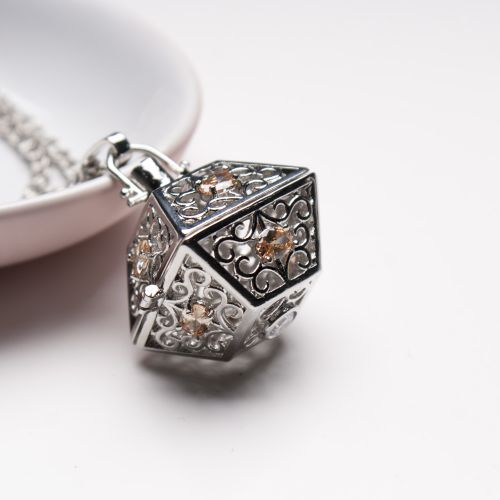 Magic Box Perfume Necklace