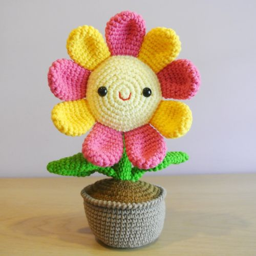 Crochet Flower Amigurumi