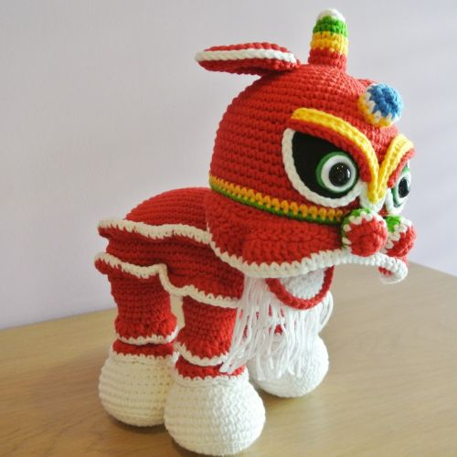 Lion Dance Doll Amigurumi