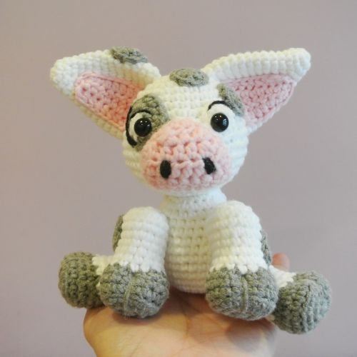 Pua the Pig (Moana) Amigurumi