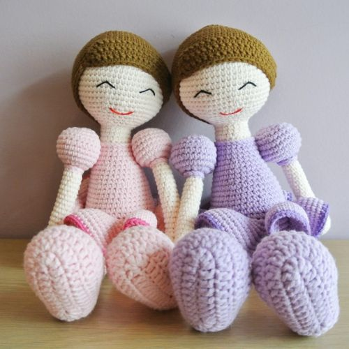 Crochet Ballerina Amigurumi