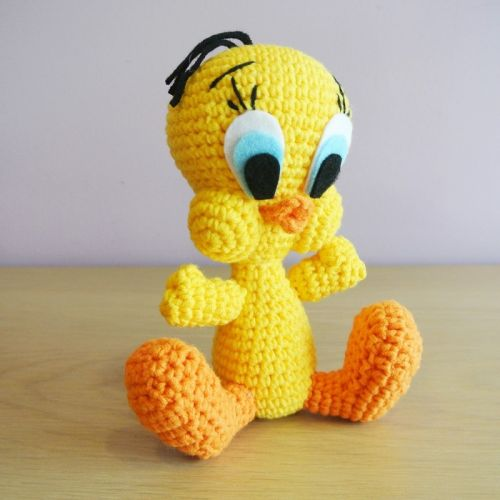 Crochet Tweety Bird Amigurumi