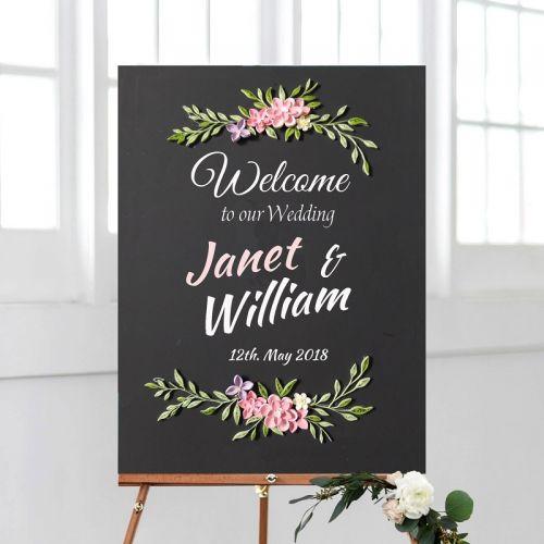 Wedding Chalkboard Series : Daisy Delight