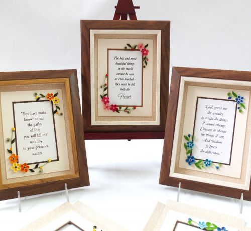 Elegant Florals - Gift Frame