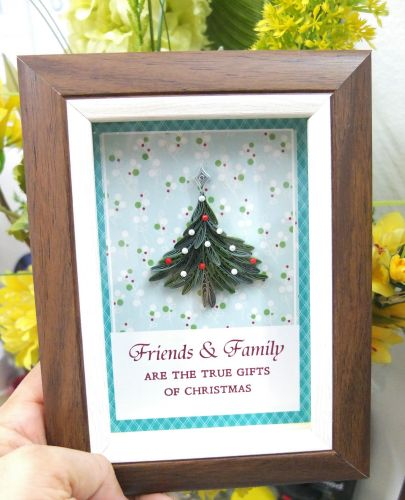 Mini Christmas Frame Series : Classic Christmas Tree