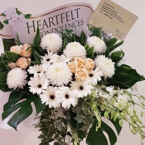 Wreath Flower Stand - Code WFS002