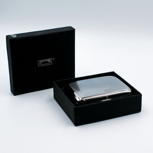 Diagonal Hatch Cigarette Case 320