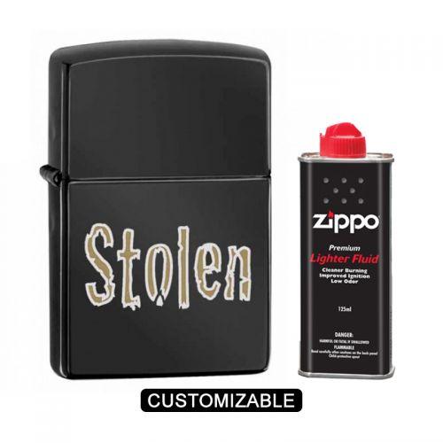 Zippo 28834 Stolen Ebony Lighter