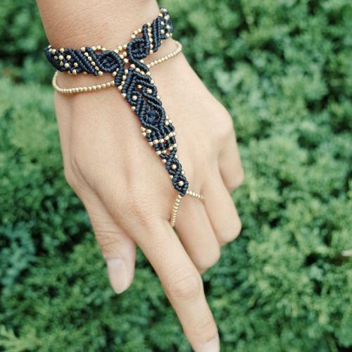 Macrame Slave Bracelet