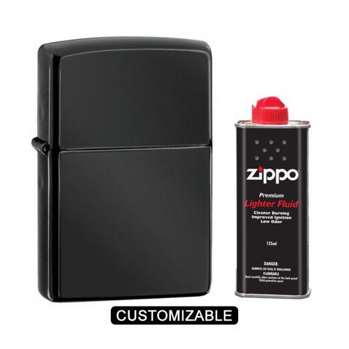 Zippo 24756 Ebony Lighter