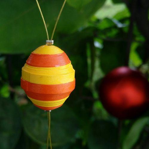 Set of 4  Christmas ornaments, assorted colors-paper quilled Christmas ornaments- handmade paper ornaments- Christmas tree decor