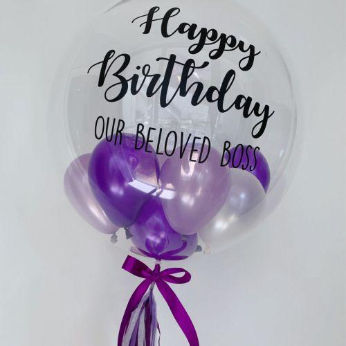 24 Inch Deco Bubble Balloon