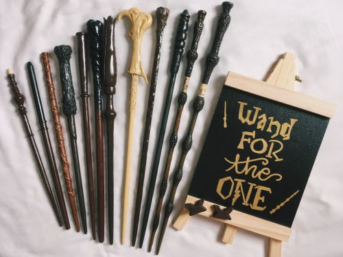 Harry Potter Handmade Wands