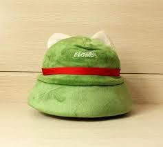 League Of Legends Teemo One Size Cosplay Party Warm Hat Army Green