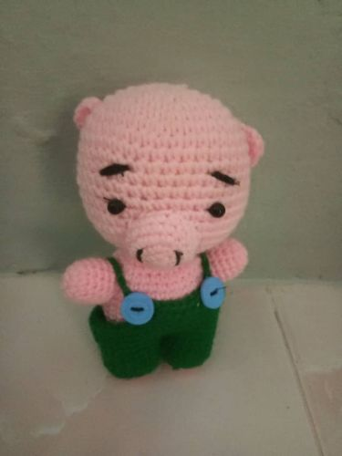 Crochet Piggy Doll