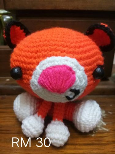 Crochet Tiger Doll