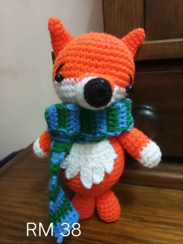Crochet Fox Doll