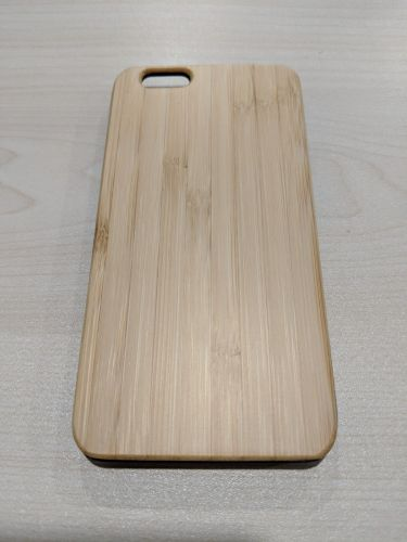 EcoQuote iPhone 6 / 6s Plus Phone Case Bamboo & Cork Eco-Friendly Material, Sustainable & Great for Vegan