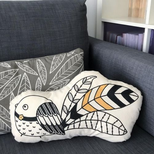 Adorable Bird Plushy Pillow