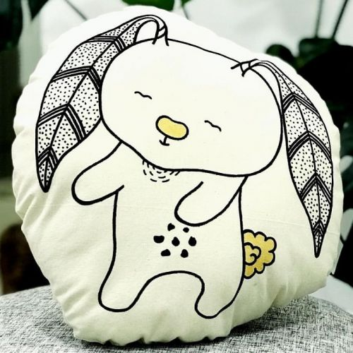 Little Bunny Plushy Pillow