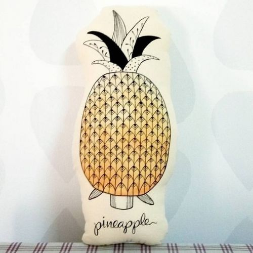 Fruits Pineapple Plushy Pillow