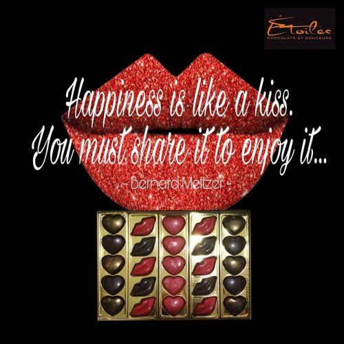 Etoiles Chocolats - Bisou Amour Box