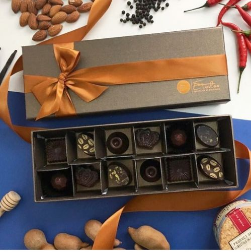 Etoiles Chocolats - Assorted Box Of 12