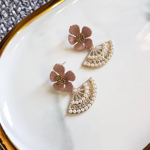 Nude + Oriental Earring