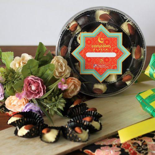 Twin Chocolate London Almond Cookies