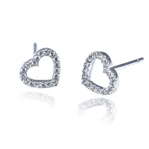 Premium My Heart Stud Earrings