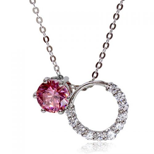 Premium Multiway Pink Pendant Necklace
