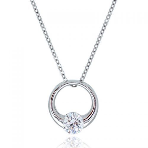 Premium Eternity Pendant Necklace