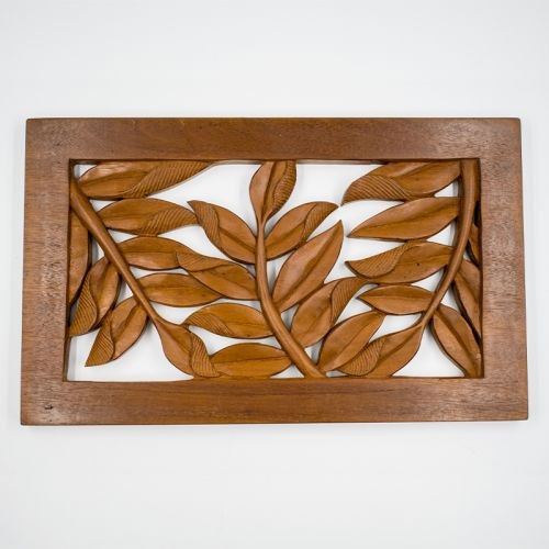 Cengal Wood Wall Decor